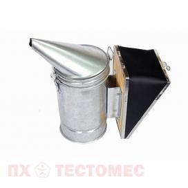 Дымарь пасечный из оцинкованной стали со съемным мехом фото 1
