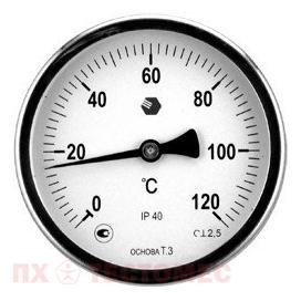 Термометр D100мм/L100мм-О-ОСНОВА Т.3 фото 1