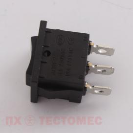 Клавишный перекидной переключатель KCD1-2-103 - фото 1