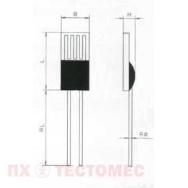 Платиновый датчик по тонкопленочной технологии Type M (Medium)
