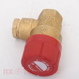 Prescor клапан резьбовой 3 bar 1-2 - фото №1