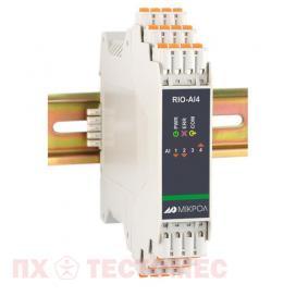 Модуль аналогового ввода RIO-AIU8