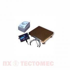Весы электронные с функцией печати этикеток фото 1