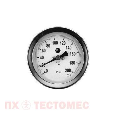Термометр D100мм/L100мм-О фото 1