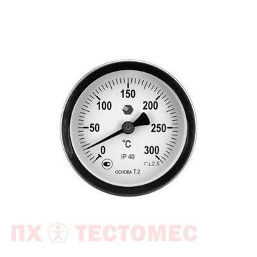 Термометр D63мм/L100мм-О фото 1