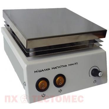 Магнитная мешалка с подогревом ММ-7П - фото