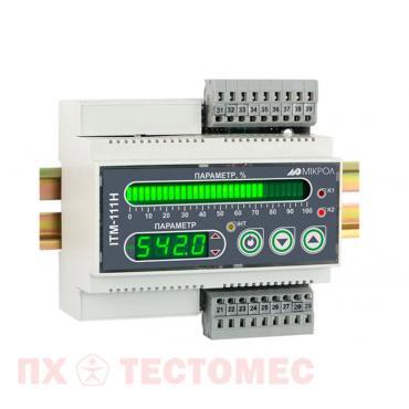 Одноканальный микропроцессорный индикатор ИТМ-111Н фото1