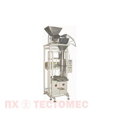 Фото упаковочного полуавтомата с весовым электронным дозатором